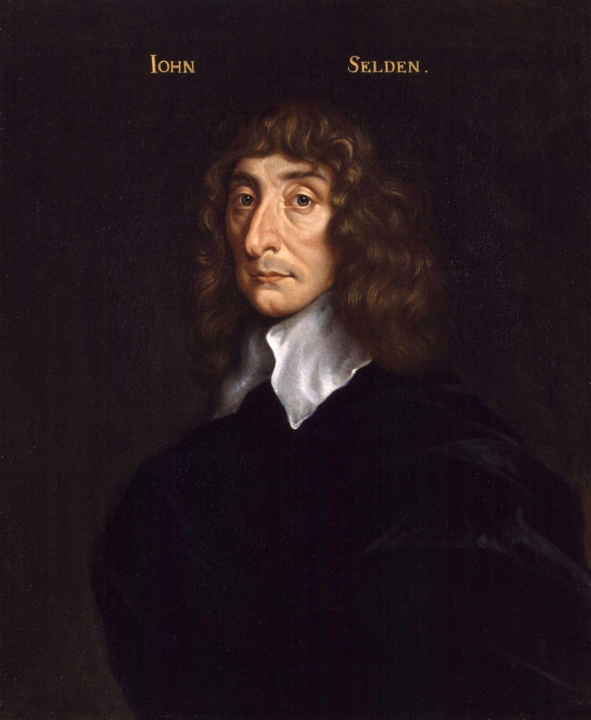 Portrait of John Selden, National Portrait Gallery