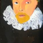 Tim Yau, Michael Drayton, acrylic on canvas, 2013