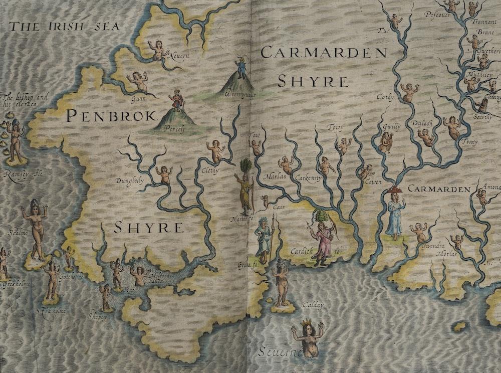 William Hole, Penbrokeshire & Carmardenshyre, 1612